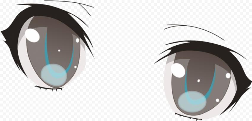 anime eyes transparent background PNG image with transparent background free download