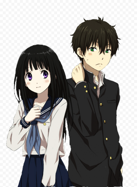 Download Free PNG Anime   Hyouka Transparent Picture