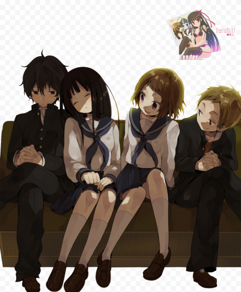 Download Free PNG Anime   Hyouka