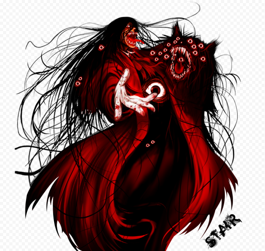 Download Free PNG Anime   Hellsing Transparent Background