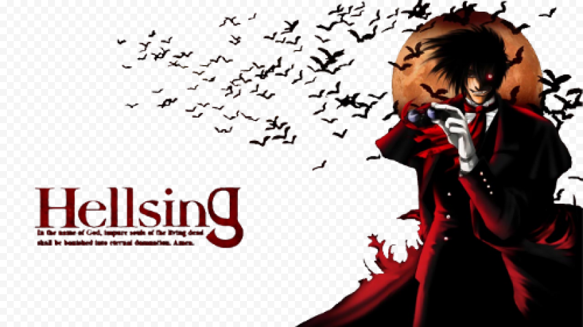 Download Free PNG Anime  Hellsing Transparent Image