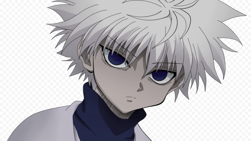 Killua Zoldyck PNG Transparent Picture for free
