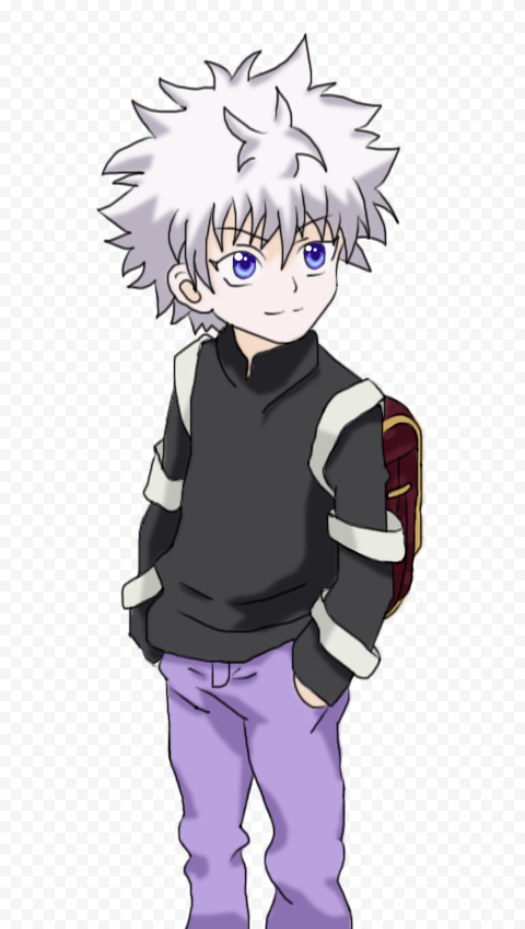 Hunter X Hunter Killua Zoldyck PNG Picture FOR FREE DOWNLOAD