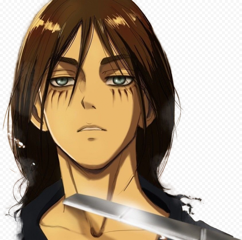 Attack On Titan – Eren Yeager Transparent PNG free download