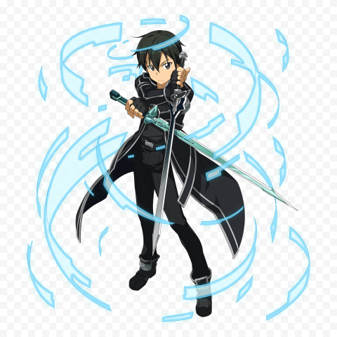 Kazuto Kirigaya Kirito PNG Transparent free download