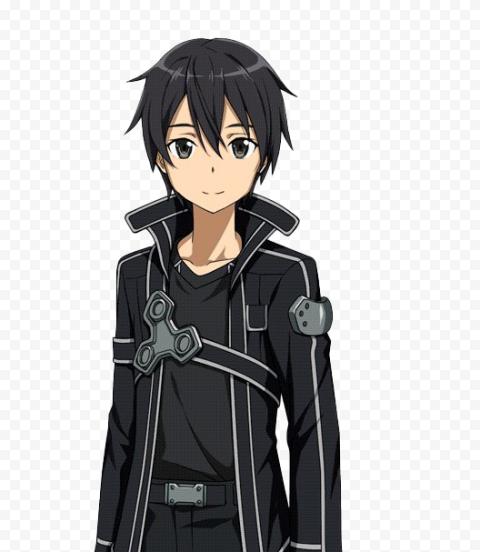 Kazuto Kirigaya – Kirito Transparent PNG