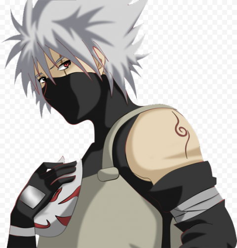 Kakashi PNG File anime png stickers,