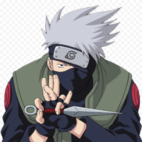 Kakashi PNG Transparent Picture anime png stickers,