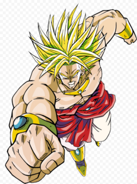 Dragon Ball Broly PNG Transparent free png image anime for download