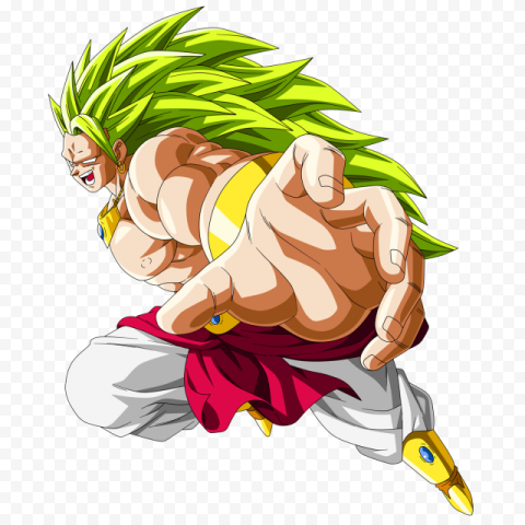 Dragon Ball Broly PNG Photos free png image anime for download