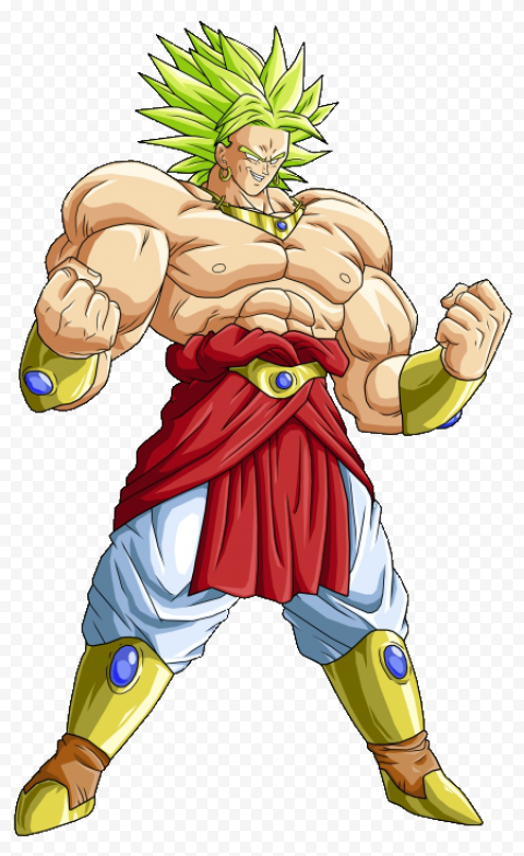 Dragon Ball Broly PNG Pic free png image anime for download