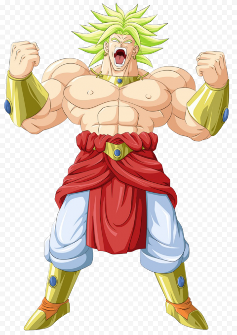 Dragon Ball Broly Transparent PNG free png image anime for download