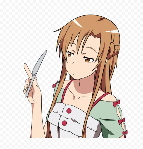 Asuna Transparent PNG free png image anime for download