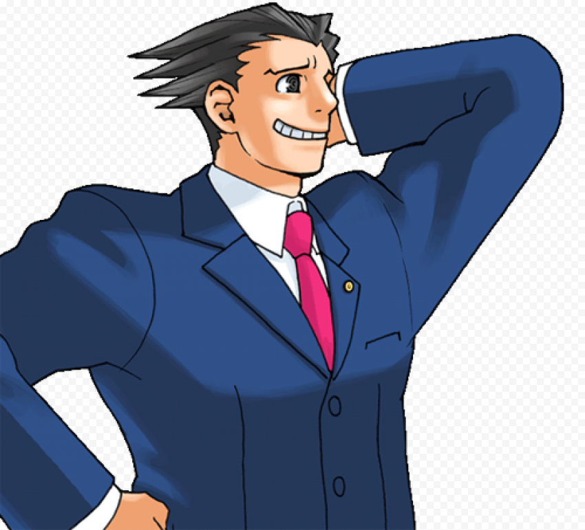 ace attorney free png image free download