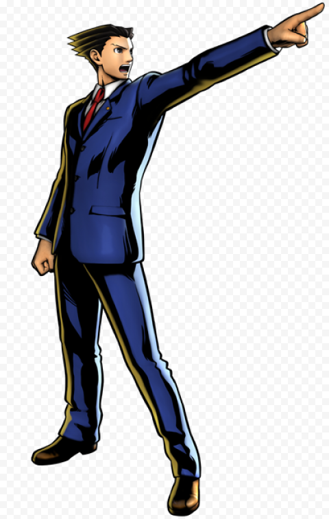 ace attorney png clipart free download
