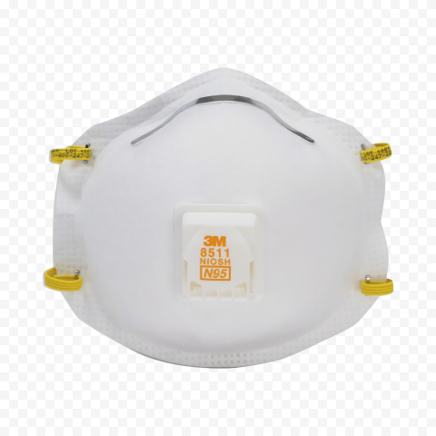 n95 surgical mask doctor white yellow ceiling bag