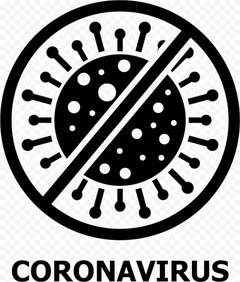 Stop Coronavirus Sign PNG Transparent Image Free download png image
