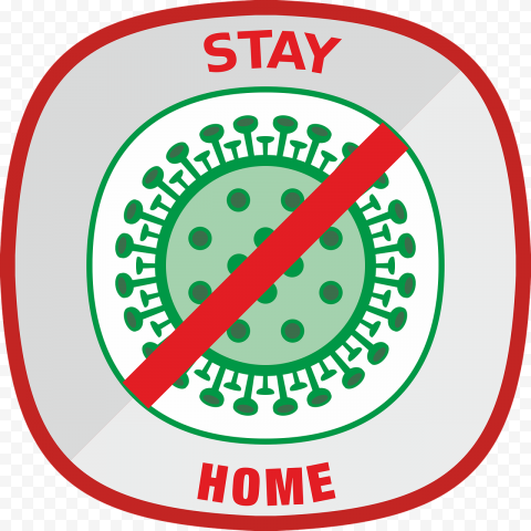Coronavirus Stay Home PNG Image  Free download png image