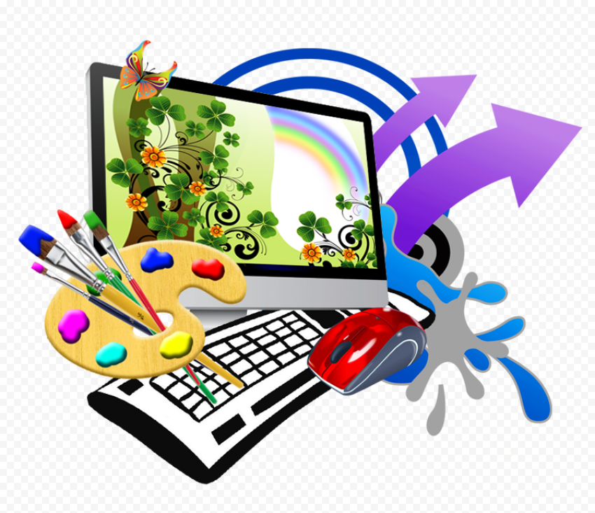 Web Design PNG File Free download