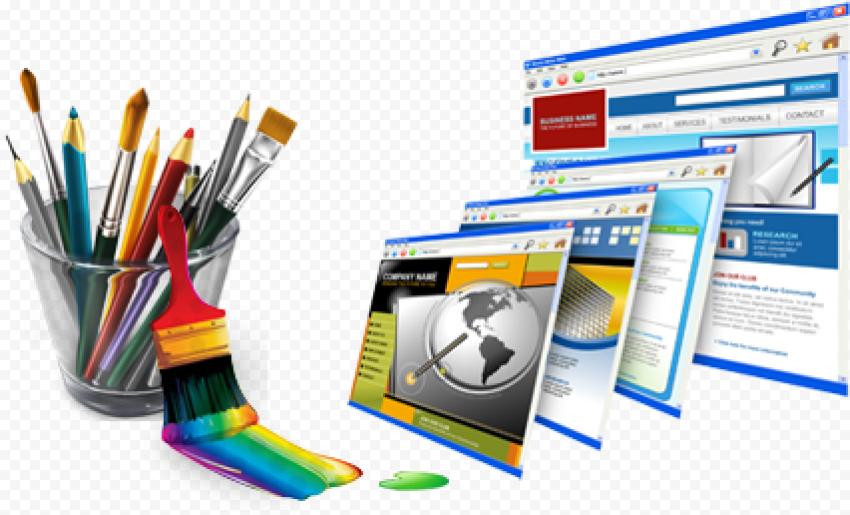 Web Design PNG Transparent Picture Free download