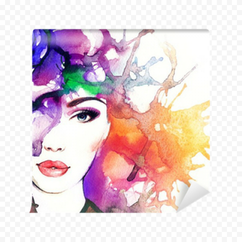 Abstract Woman PNG Transparent Free download