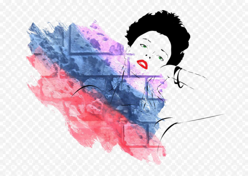 Abstract Woman PNG Picture Free download