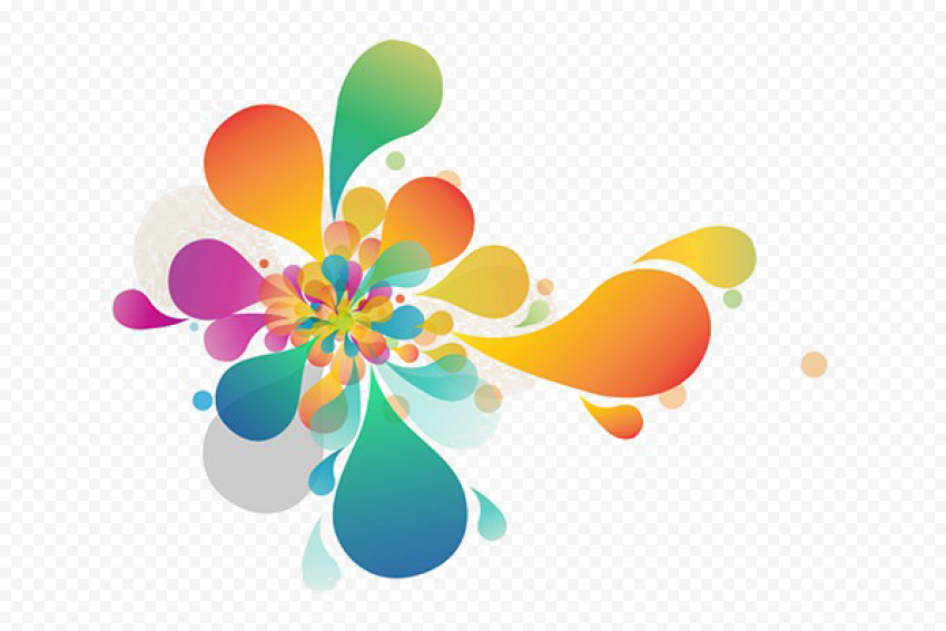 Abstract Colors PNG Picture Free download