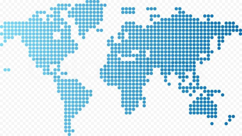 Abstract World Map PNG Photos Free download