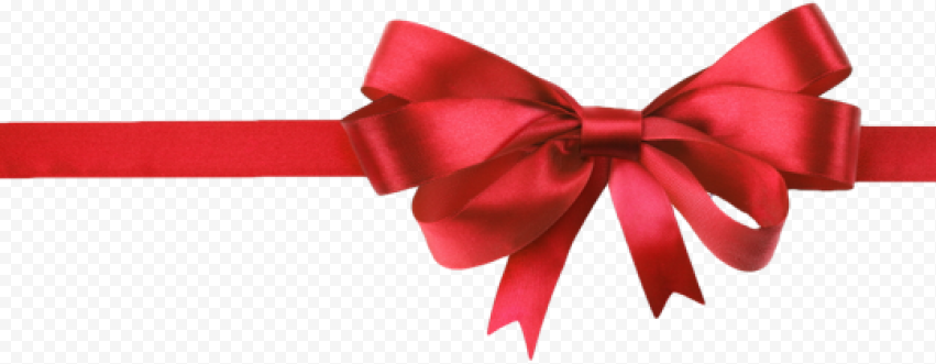 Red Christmas Ribbon PNG Background Image Free download