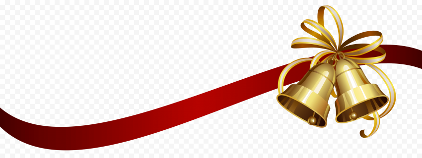 Red Christmas Ribbon Transparent Background Free download
