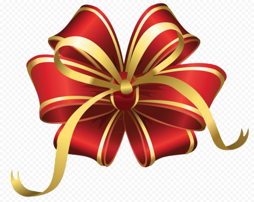 Gift Bow Ribbon PNG File Free download