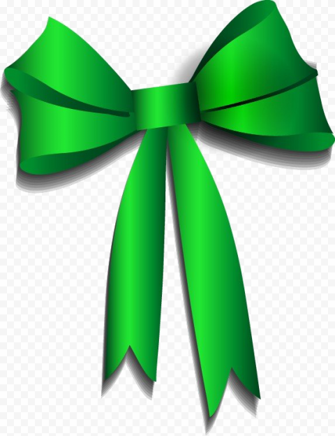 Green Ribbon PNG Image Free download