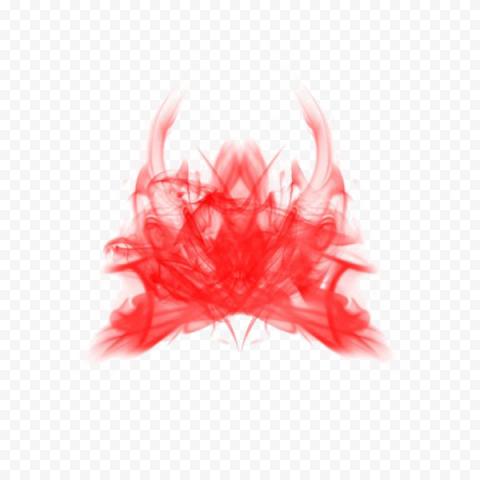 Red Smoke PNG Transparent Image Free download