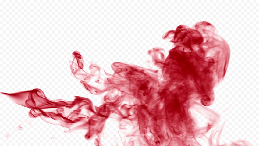 Red Smoke PNG Transparent Picture Free download