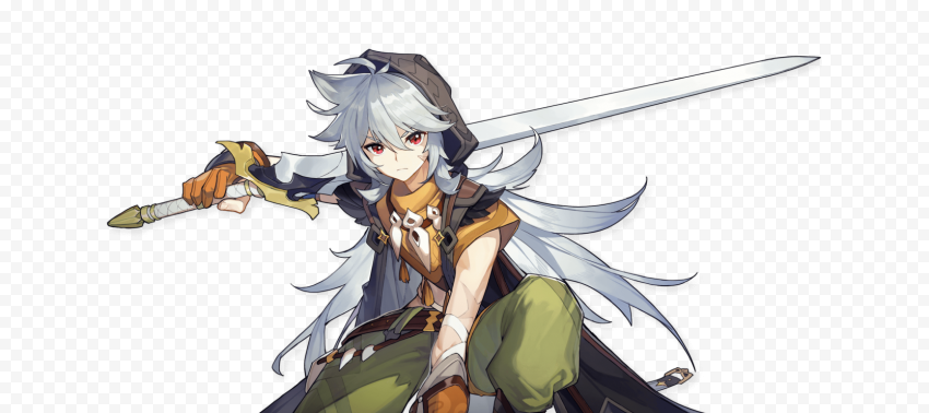 genshin impact character costume free download png