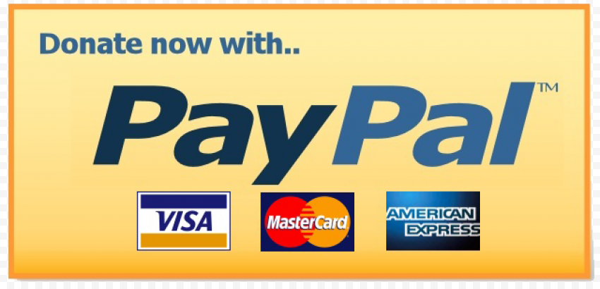 PayPal Donate Button PNG Clipart