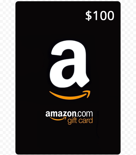 Amazon Gift Card PNG Free Download