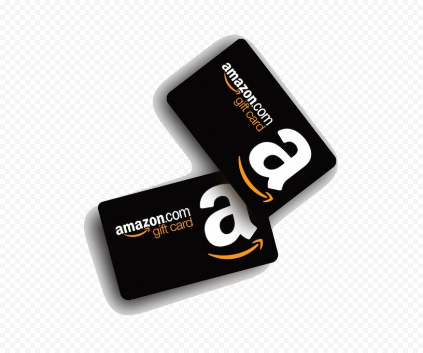 Amazon Gift Card PNG Transparent Image