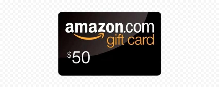Amazon Gift Card PNG Image