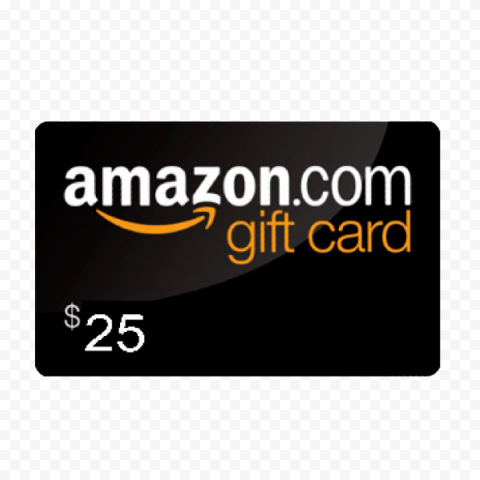 Amazon Gift Card PNG Pic