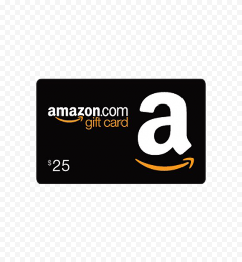 Amazon Gift Card PNG HD