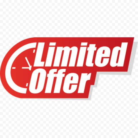 Limited offer PNG Photos