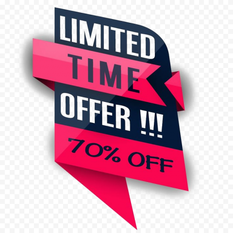 Limited Offer PNG Free Download