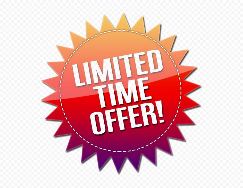 Limited Offer PNG Image