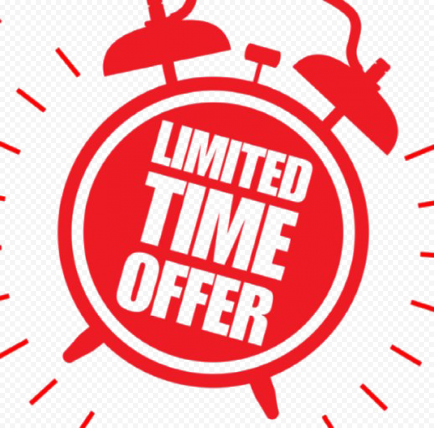 Limited Offer Transparent Background