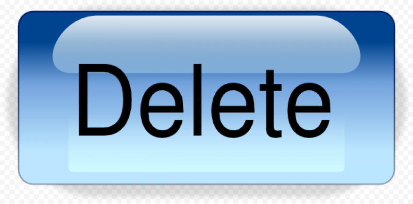 Delete Button PNG File FREE DOWNLOAD