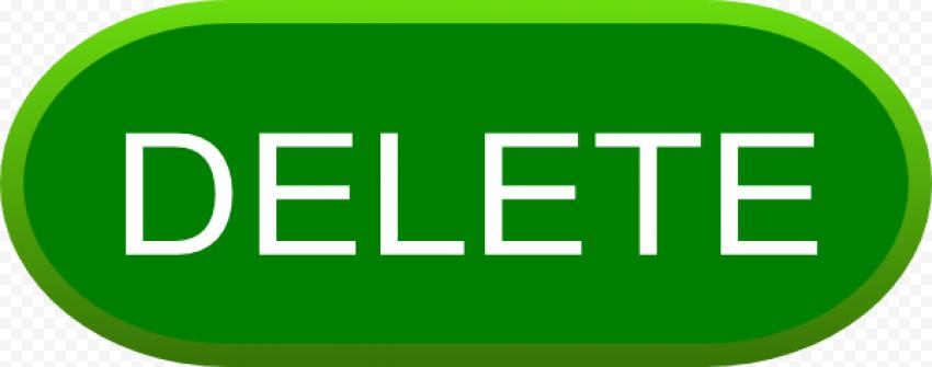 Delete Button PNG HD FREE DOWNLOAD
