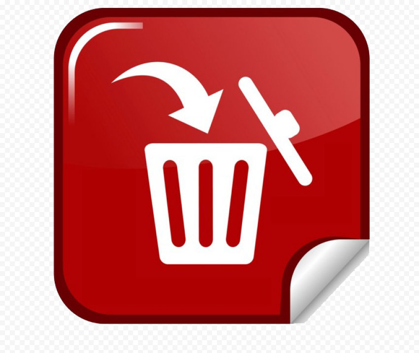 Delete Button PNG Image FREE DOWNLOAD
