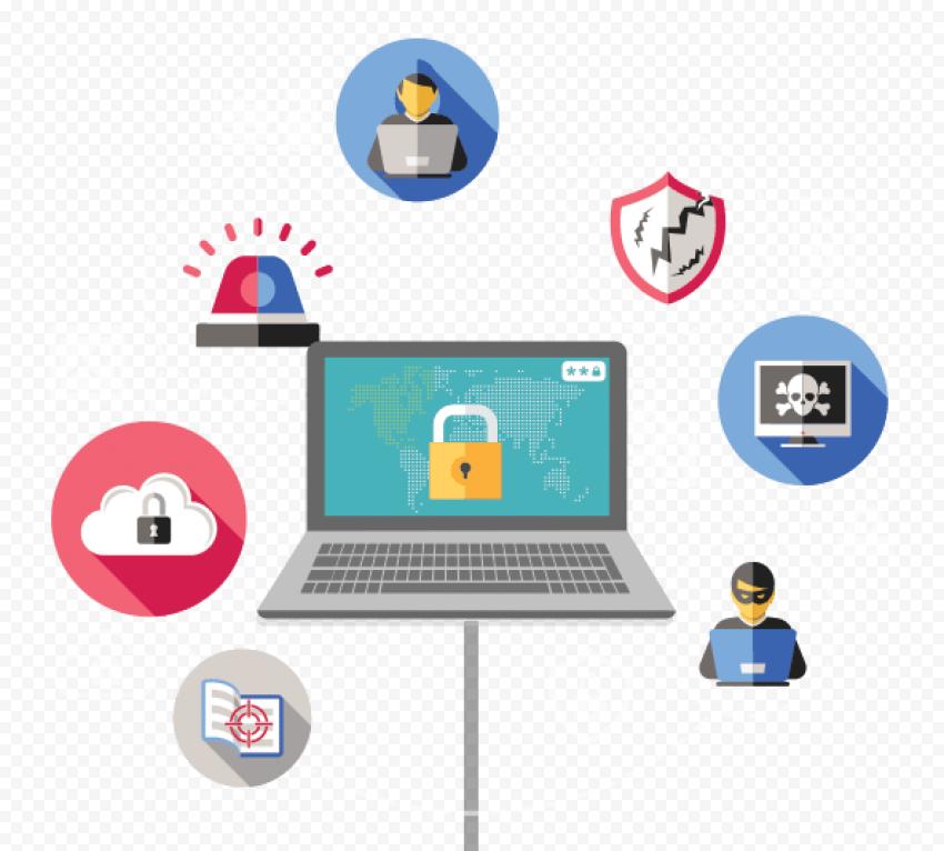 Web Security Transparent Background