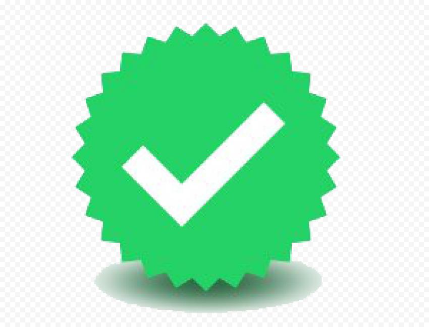 WhatsApp Verified Badge PNG File